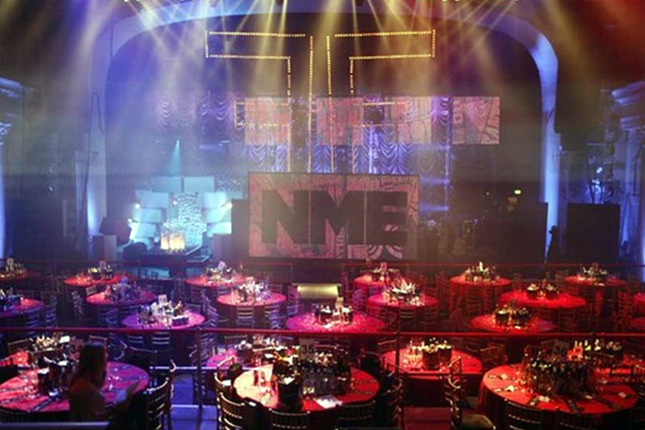 Sharpy puts in star appearance at NME Awards