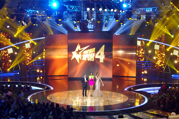 "Sharpys Shine on Fourth Season of Ukraine TV's ""Star Factory"""