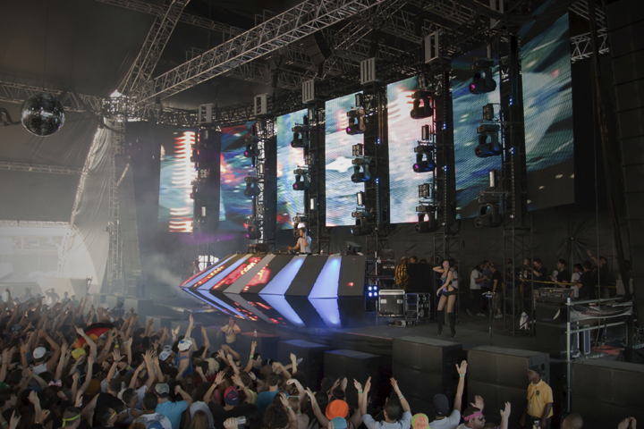 Clay Paky at Ultra Music Festival, Miami, Florida