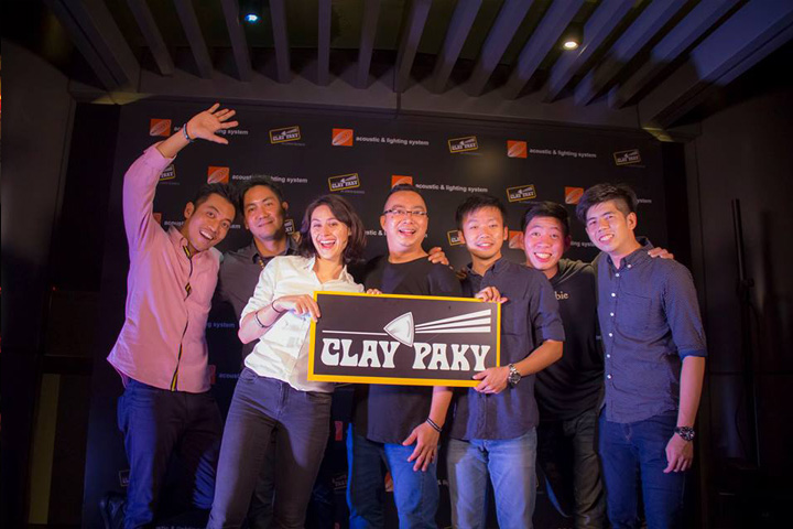 Acoustic & Lighting and Clay Paky Team