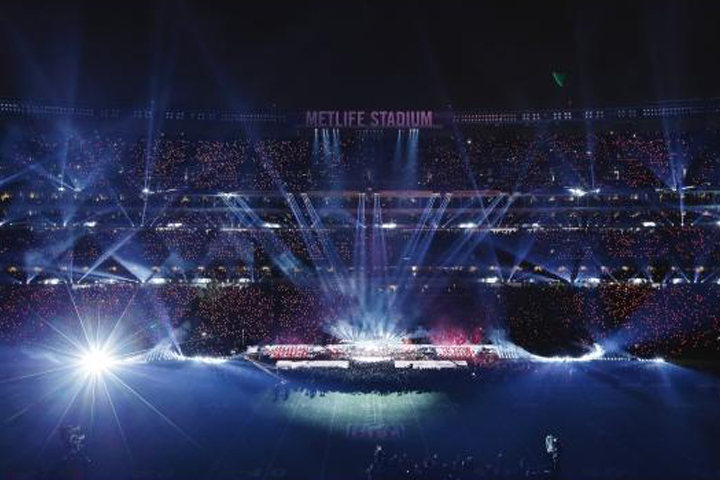 SuperBowl Halftime experiences the newest B-EYEs and more than 300 Sharpys
