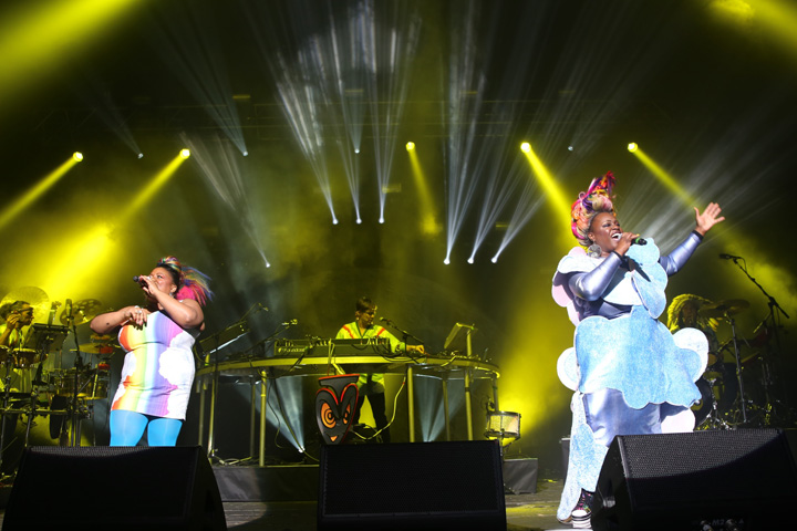 Basement Jaxx 'Kish Kash' in on Clay Paky fixtures for tour