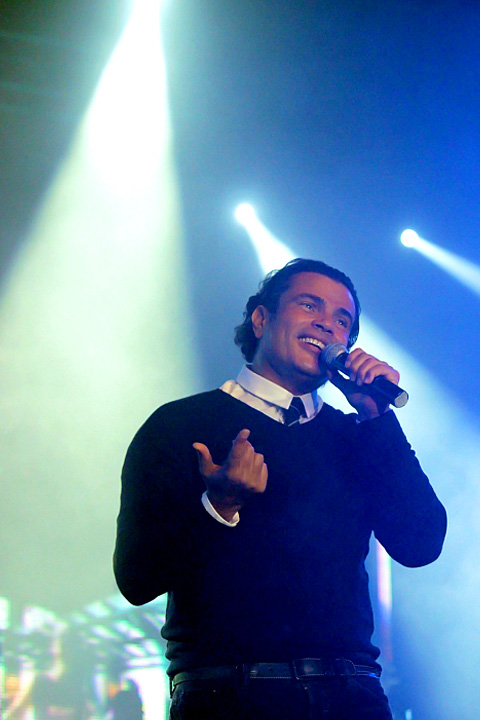 Clay Paky add Sparkle to Arab Singer Amr Diab's Cairo Concert