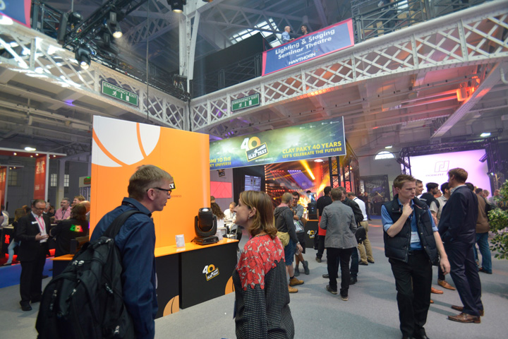 Clay Paky and its successful venture at Plasa 2016
