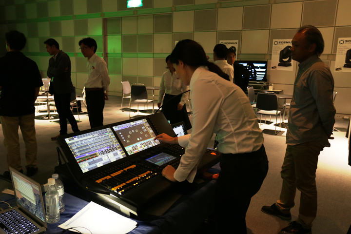 Clay Paky and PRG KK launch the Scenius in Japan