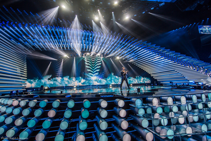 Clay Paky at Eurovision Song Contest 2015