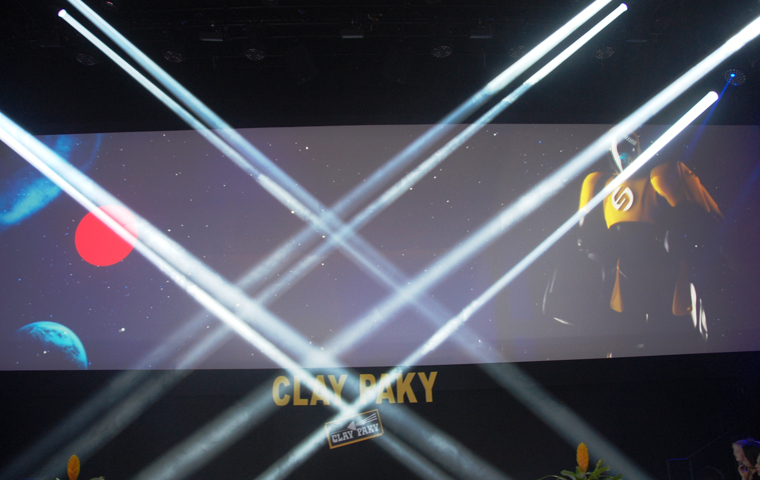 Clay Paky at PLASA 2014 | Lots of successful new lights: an opportunity to remember the past and look forward to the future