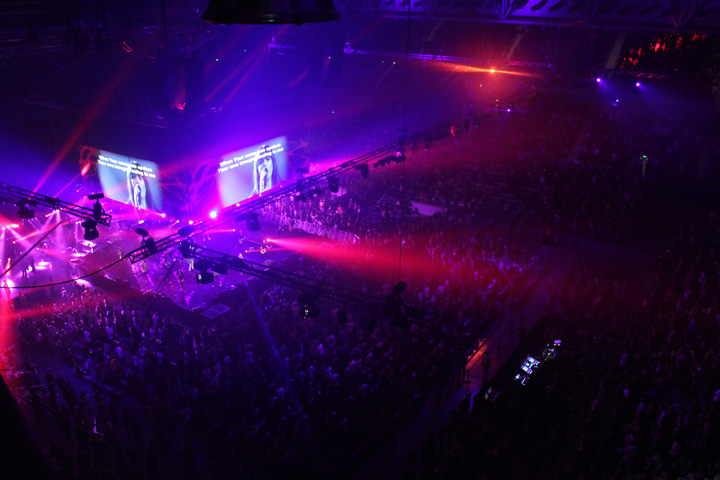 Clay Paky at the Planetshakers Conference 2012