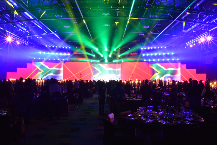 Clay Paky B-EYE is 'crown-jewel' at 2nd South African Premier Business Awards