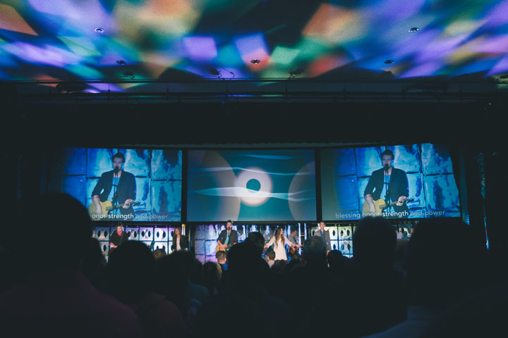 Clay Paky B-EYEs Elevate Easter Worship Experience for North Carolina's Elevation Church
