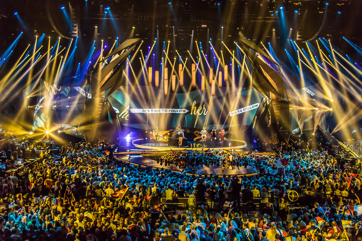 Clay Paky - ESC 2013: Clay Paky EXCLUSIVE pictures from ...
