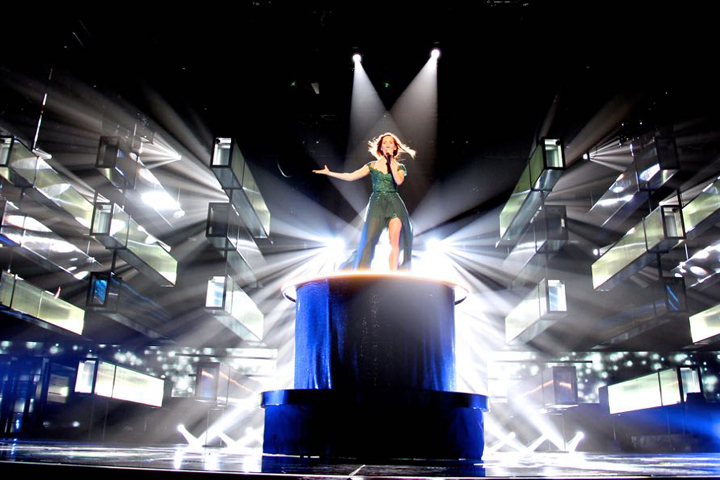 Clay Paky Featured at Melodifestivalen 2015