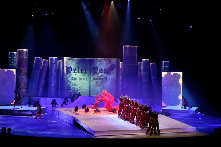 Clay Paky Flies High in Peter Pan Spectacular