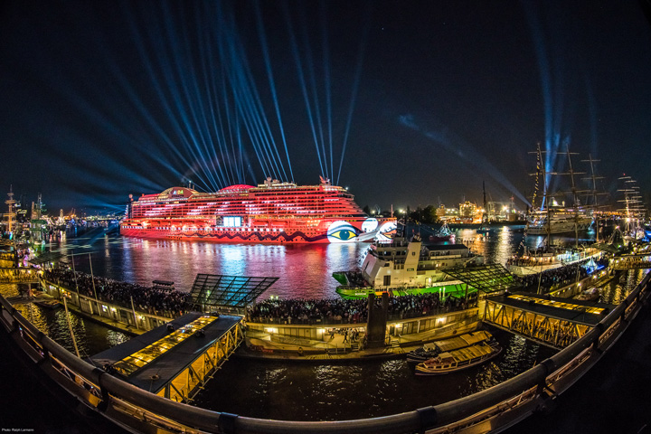 Clay Paky helps christen AIDA Cruises' new luxury flagship