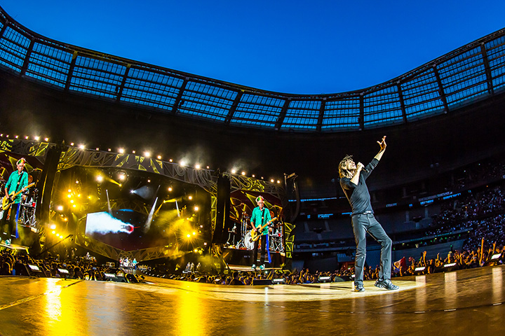 Clay Paky Hits the Road with The Rolling Stones' Zip Code Tour - Photo credit: Ralph Larmann