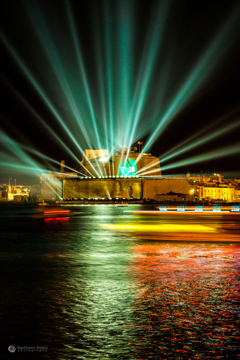 Clay Paky illuminates the 10th Anniversary of Malta joining the EU