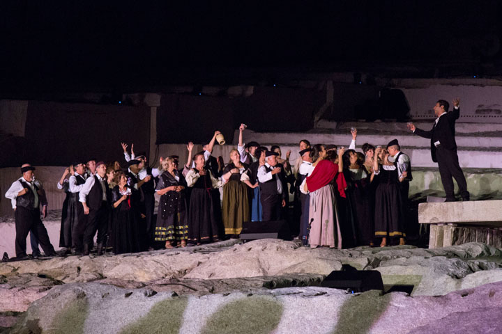 Tones On The Stones - Cavalleria Rusticana - photo: Arianna Ricotti