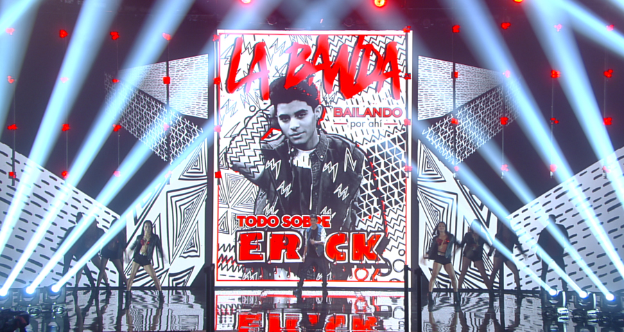 "Clay Paky Lights Up the Competition on ""La Banda"""