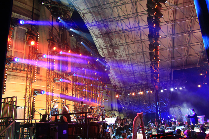 Clay Paky Luminaires Reign Supreme at Coronation Festival Gala