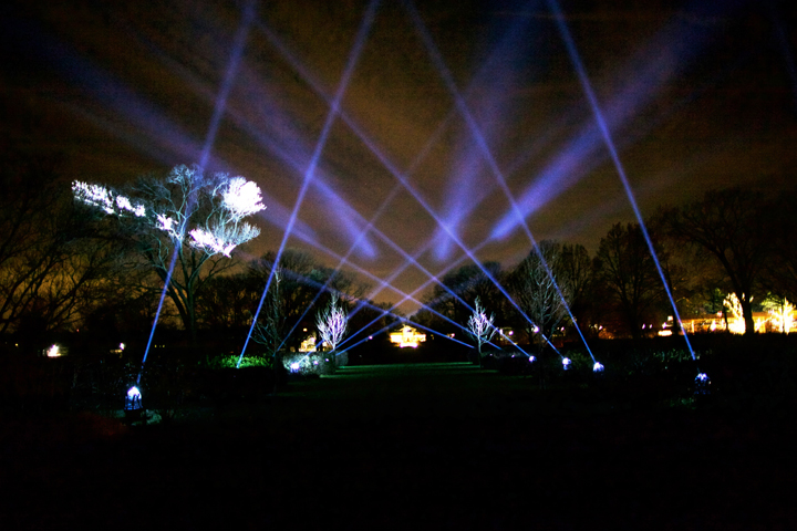 "Clay Paky Mythos Fixtures Make U.S. Debut at ""The Morton Arboretum"" Event"