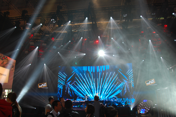 Clay Paky shines on Prolight+Sound 2015