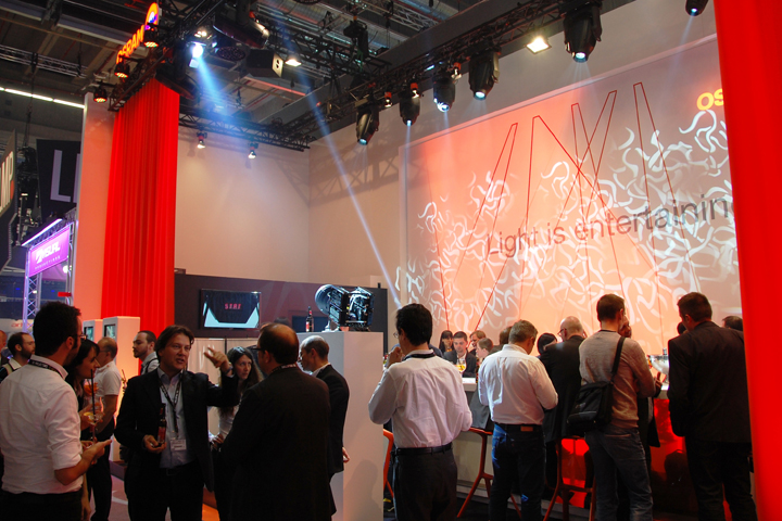The OSRAM Stand
