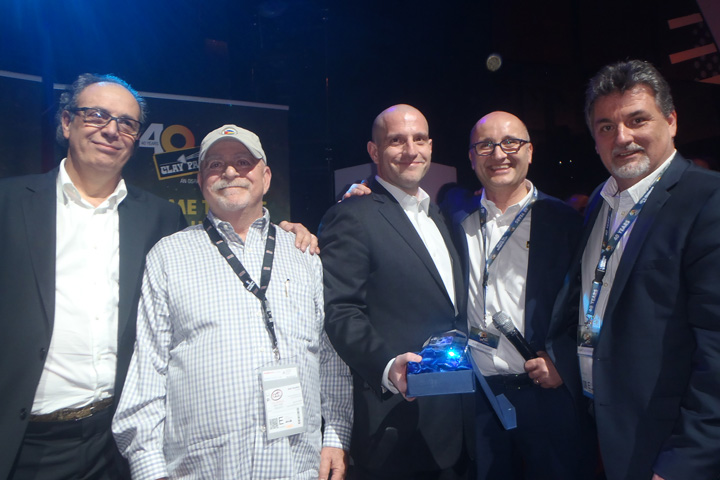 Clay Paky Ambassador of Light Awards - Best Performance, presented to A.C.T LIGHTING