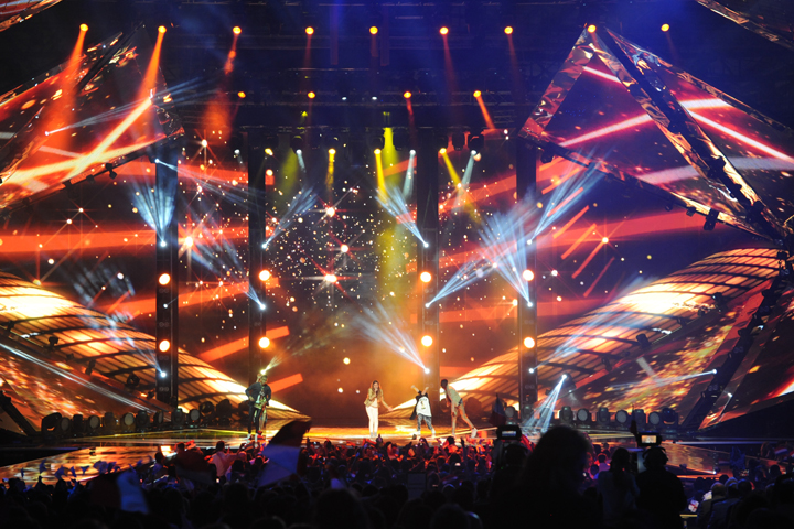 Clay Paky shines on the 2014 Junior Eurovision Song Contest
