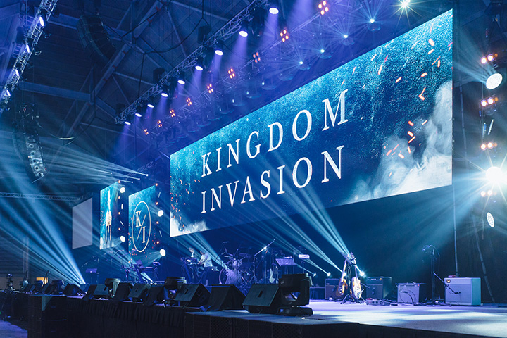Claypaky and Illuminate Productions shine at Kingdom Invasion 2017 - Photo credit: Illuminate  Productions