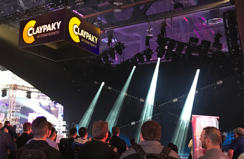 Claypaky exhibits the future of show lighting at LDI