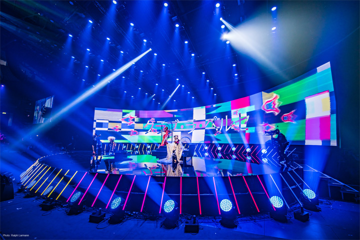 Claypaky is no.1 for Finnish Eurovision Song Contest