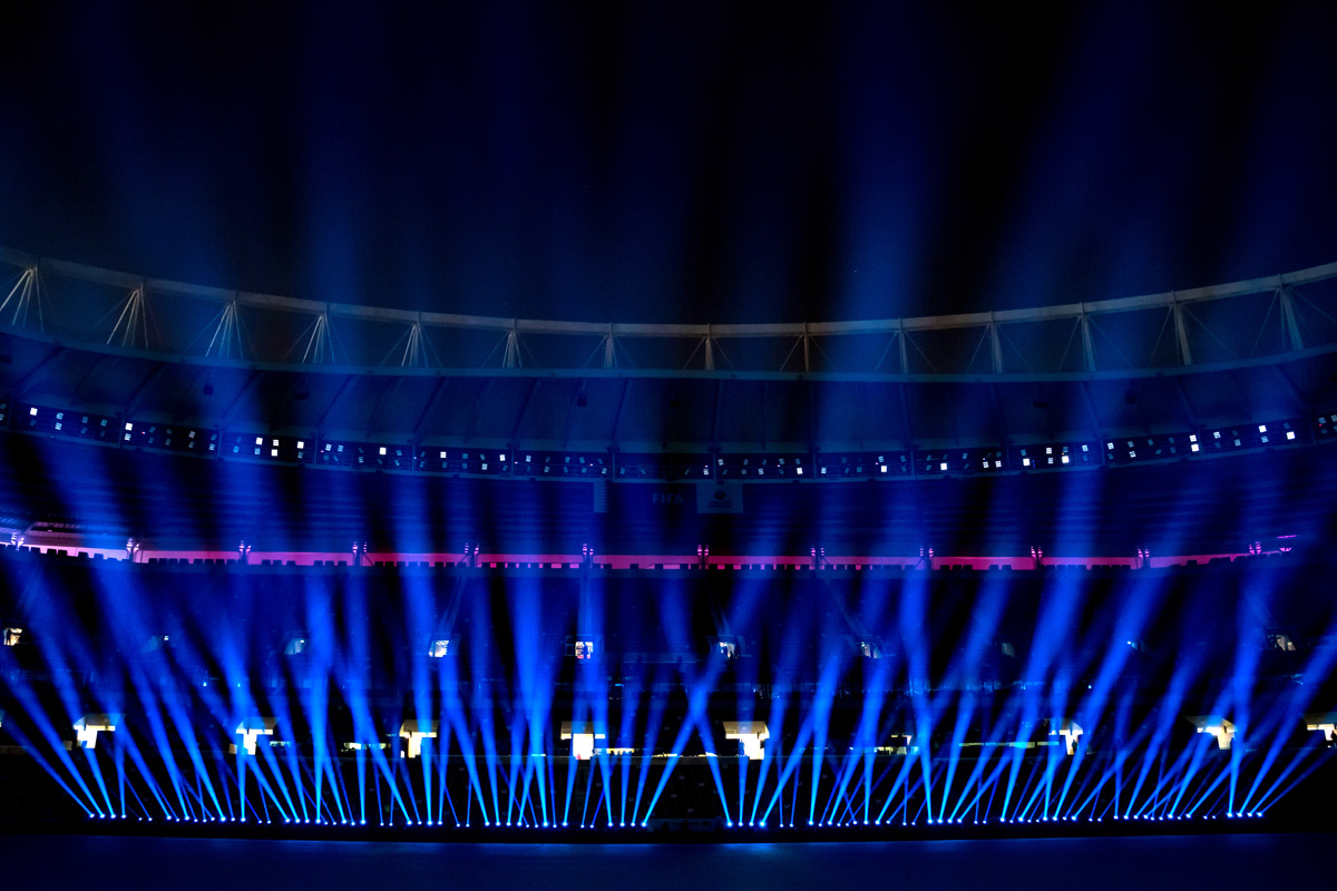 Claypaky Lighting Fixtures Score with Shows for FIFA Club World Cup Qatar 2020
