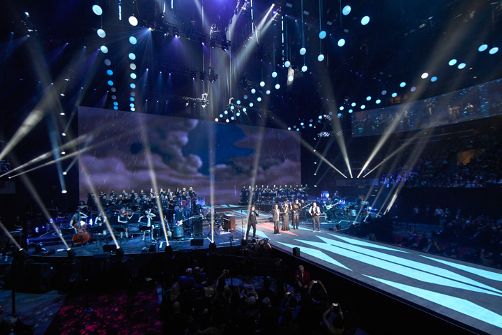 "Claypaky Lighting Fixtures Support Huge ""Nu Skin global LIVE!"" Event in Salt Lake City"