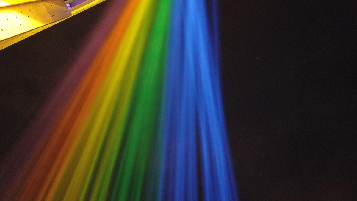 Claypaky Mythos 2 Fixtures Create Rainbow in the Sky at the Stonewall Inn to Mark 50th Anniversary of the Pride Movement
