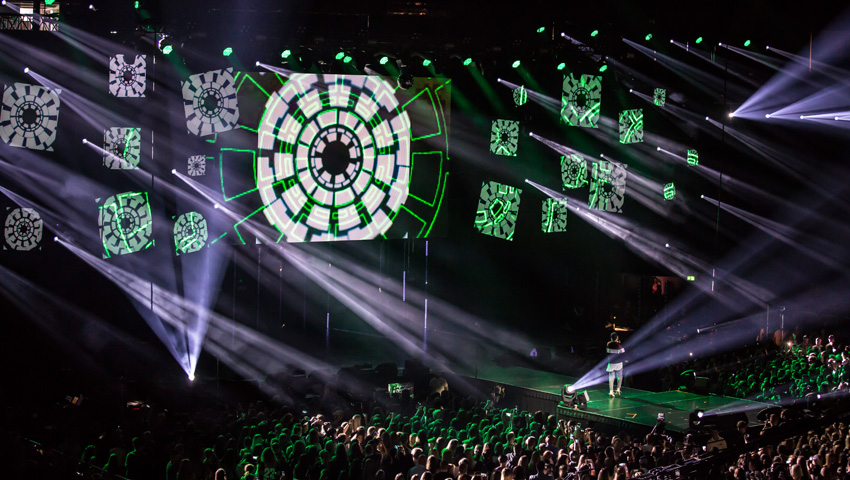 "Claypaky Mythos² lights play the lead in Cologne at VideoDays 2017: ""Incomparable for shows of this magnitude"""