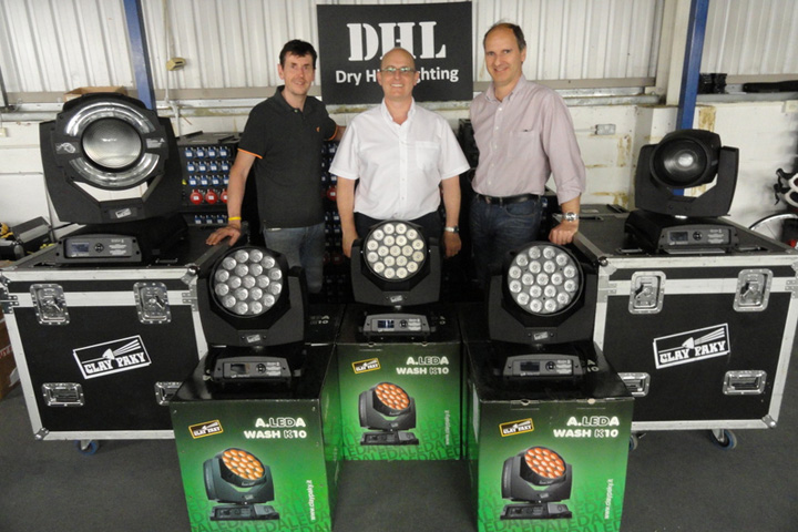 Dry Hire Lighting purchase another large batch of Clay Paky Sharpys
