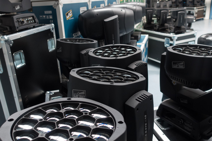 Dutch cultural centre updates its rig with Claypaky moving heads