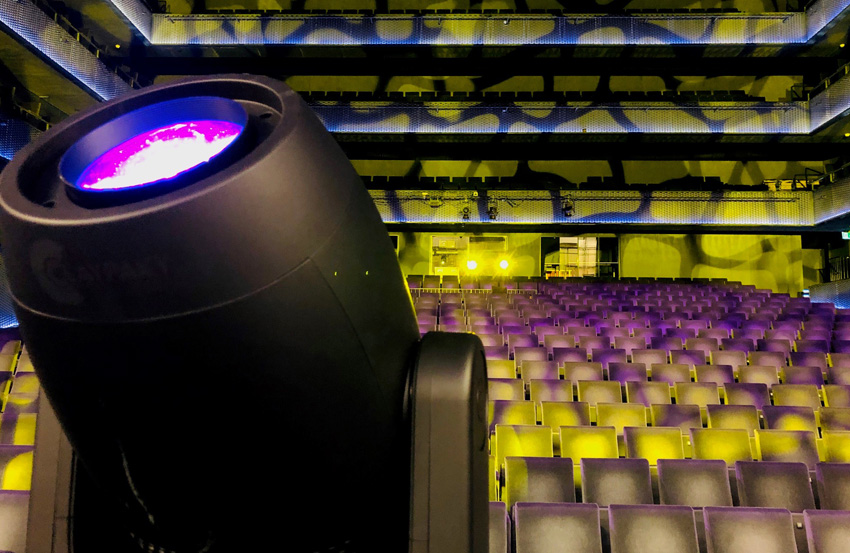 Dutch Theater Complex Adds Claypaky Axcor Spot 400s