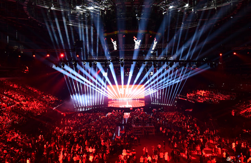 Huge Claypaky Rig Performs for the Junior Eurovision Song Contest 2018