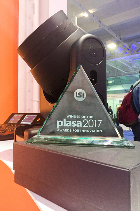 K-EYE wins at the PLASA AWARDS, the industry's most prestigious prizes