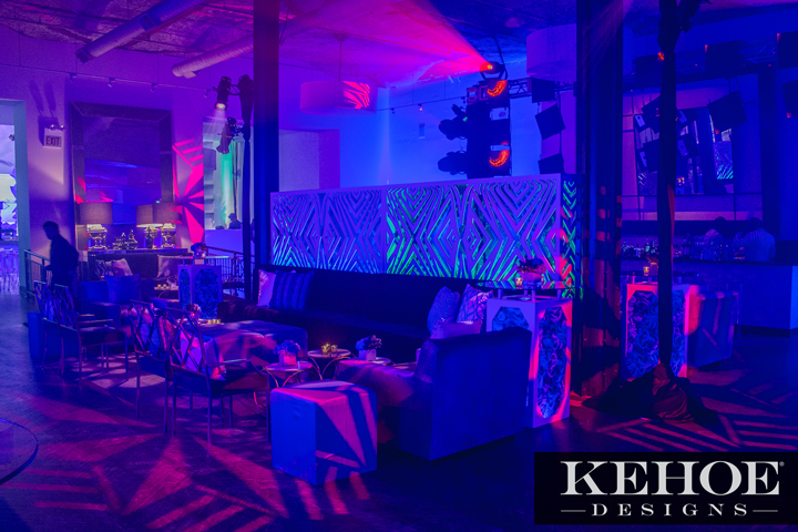 Kehoe Designs Lights Up Glamorous Chicago Corporate Parties with Clay Paky B-EYE and Sharpy Fixtures