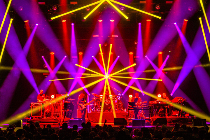 Lighting Designer Saxton Waller Digs Deep with Clay Paky B-EYE K10s and K20s on STS9 Fall 2015 Tour