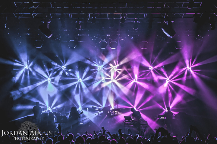 Lighting Designer Saxton Waller Digs Deep with Clay Paky B-EYE K10s and K20s on STS9 Fall 2015 Tour - Photo credit: Jordan August