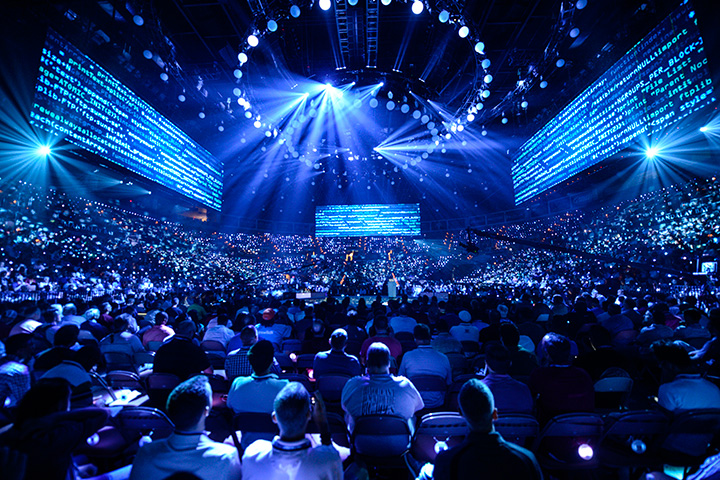 Lightswitch Selects Claypaky Mythos 2 for Cisco Live! in Las Vegas