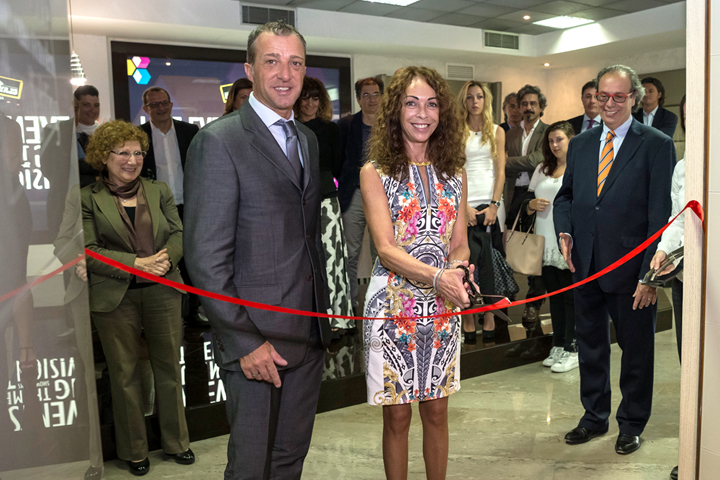 MoMS Inauguration - Ribbon-cutting ceremony with Antonella Quadri