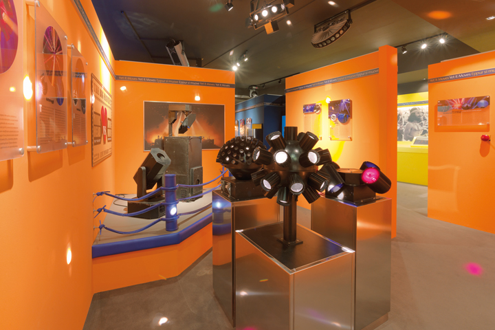 MoMs - Museum of Modern Showlighting - Orange Room: the first moving heads