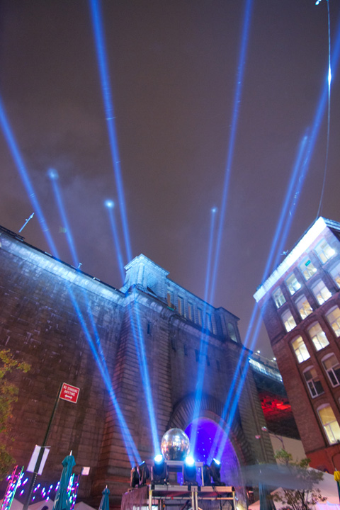 New York Festival Of Light Makes A Hit In DUMBO With Clay Paky Supersharpys