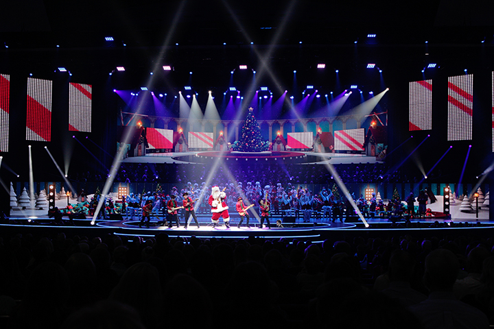 """Clay Paky - Gemini LSV Supports Prestonwood Baptist's """"The Gift of ..."""
