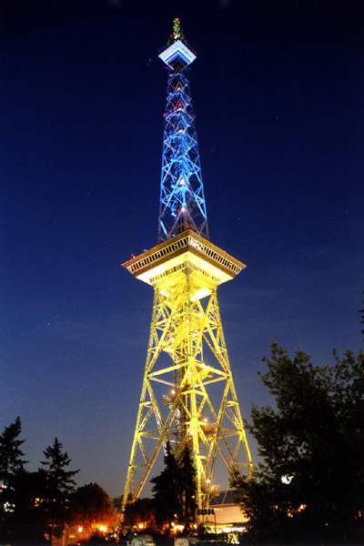 clay paky radio tower berlin