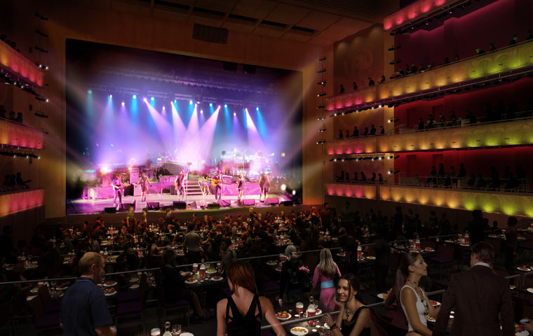 San Antonio's Tobin Center for the Performing Arts Chooses Clay Paky
